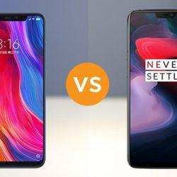 Xiaomi Mi 8 Camera vs OnePlus 6 Camera Comparison