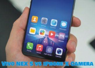 Vivo NEX S vs AppleiPhone X Camera Test