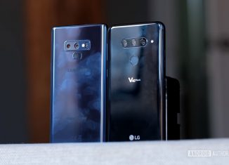 LG V40 ThinQ Vs Galaxy Note 9