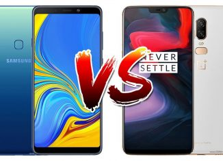 Samsung Galaxy A9 (2018) Vs Oneplus 6