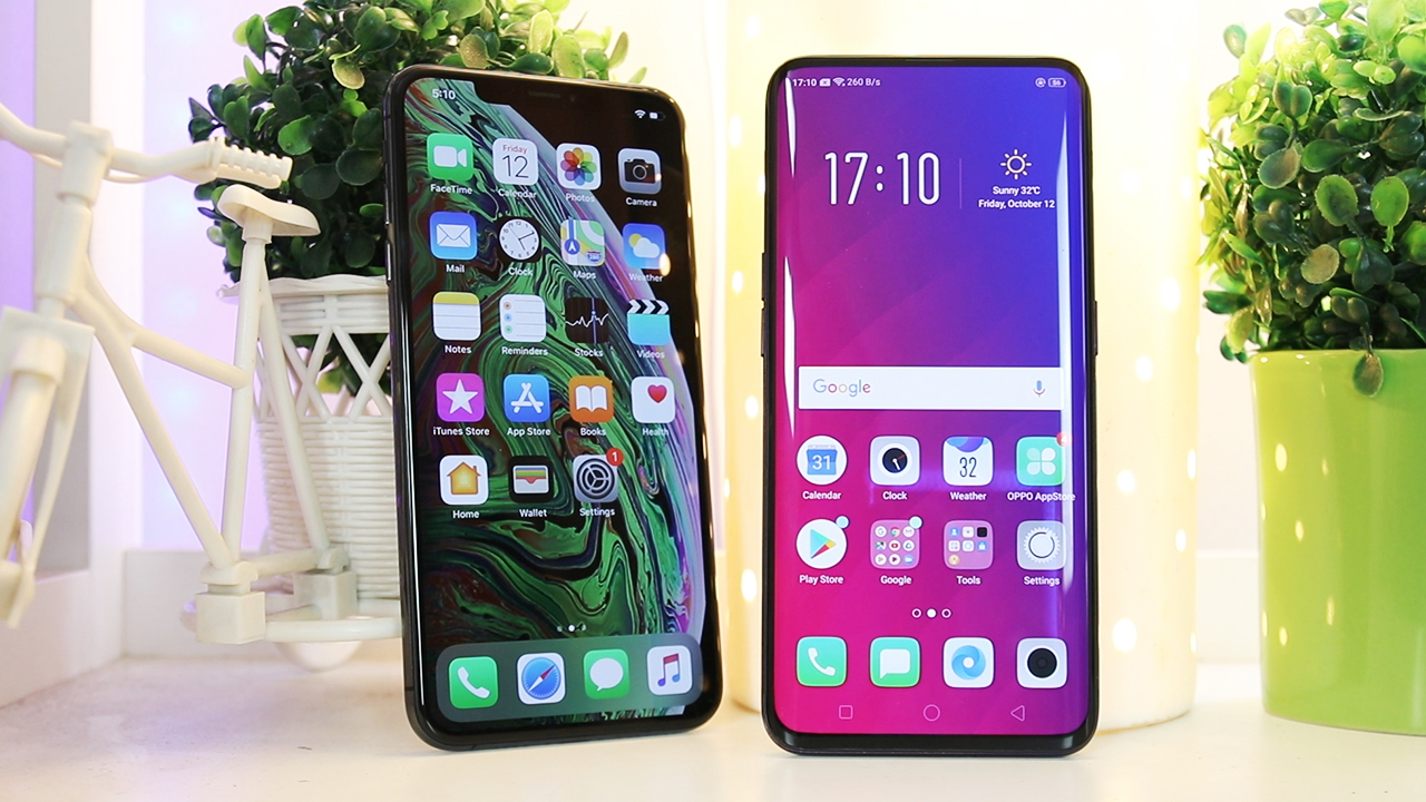 Oppo Find X Vs Apple iPhone XS Max Camera Test & Specifications