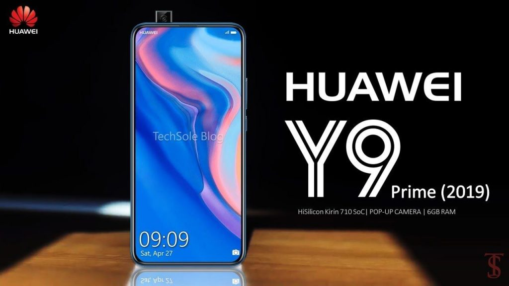Huawei Y9 Prime 2019 Pop-up Camera Protection Test