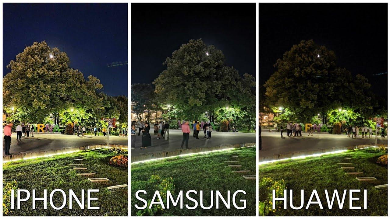 Iphone 11 Pro VS Samsung Galaxy Note 10+ Vs Huawei P30 Pro Camera Comparison