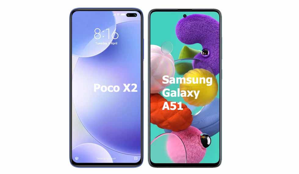 Xiaomi Poco X2 vs Galaxy A51 ,Xiaomi Poco X2 Camera Galaxy A51,Xiaomi Poco X2 Camera Vs Galaxy A51 Camera,Xiaomi Poco X2 Vs Galaxy A51 Speed,Xiaomi Poco X2 Camera,Galaxy A51 Cam