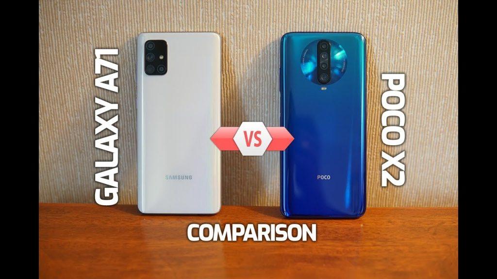 Galaxy A71 vs Poco X2 ,Galaxy A71 Camera Poco X2,Galaxy A71 Camera Vs Poco X2 Camera,Galaxy A71 Vs Poco X2 Speed,Galaxy A71 Camera, Poco X2 Cam