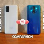 Galaxy A71 vs Poco X2 Speed Comparison