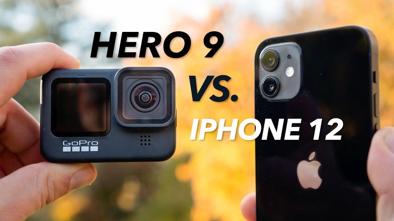 iPhone 12 Vs GoPro Hero 9 Camera Comparison
